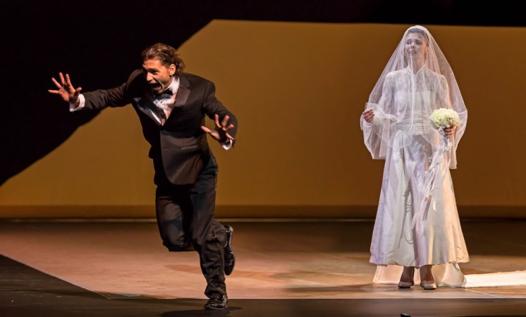 Natalia Osipova and Ivan Vasiliev in Facada - photo by Michael Khoury
