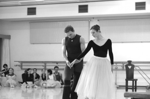 A rehearsal of Peter Wright's Giselle with Alen Bottaini, Bayerisches Staatsballett