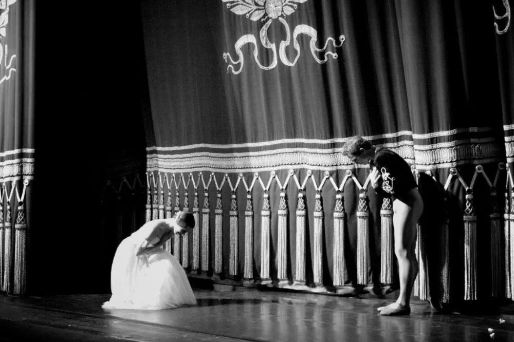 Curtain call after Giselle with Alen Bottaini, Bayerisches Staatsballett