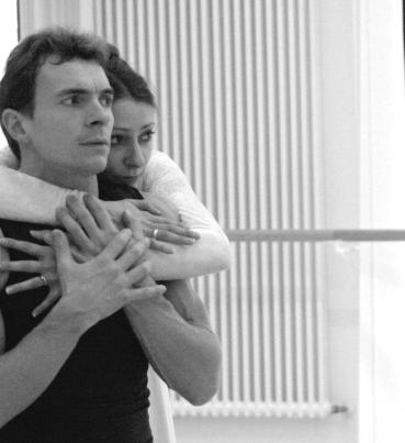 Romeo and Juliet rehearsal with Alen Bottaini
