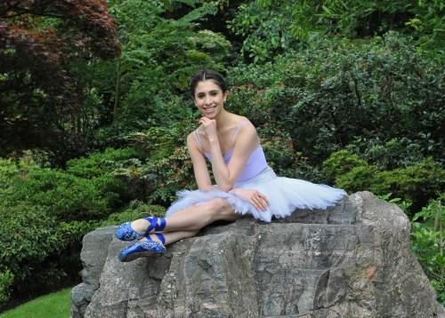 Yasmine Naghdi in Holland Park - photo Dave Morgan, 2012