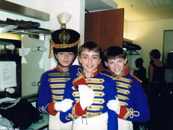 Matthew Ball dressed as a Toy Soldier for The Royal Ballet's 'The Nutcracker' in 2005, aged 11