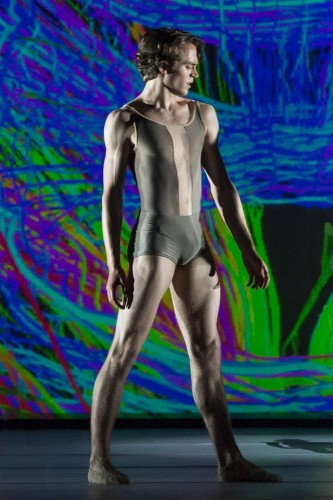 Matthew Ball in Connectome, The Royal Ballet © ROH-Bill Cooper, 2014