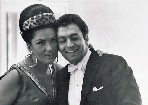 Virginia Zeani with Zubin Mehta for her début as Aida in Montreal, 1965