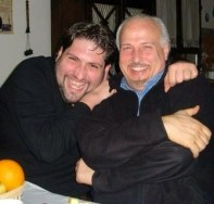 Nicola Alaimo with Uncle Simone
