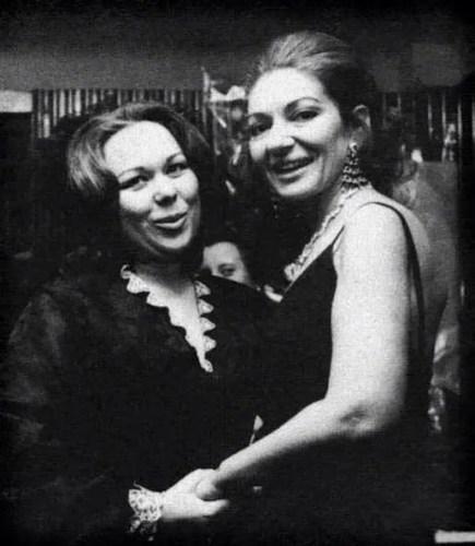 Renata Scotto with Maria Callas