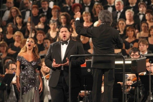 Teona Dvali and Nicola Alaimo conducted by Riccardo Muti, Ravenna Festival 2013