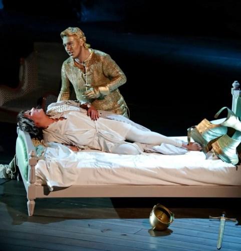 Anna Netrebko with Francesco Meli in Giovanna d'Arco - photo by Brescia and Amisano, Teatro alla Scala