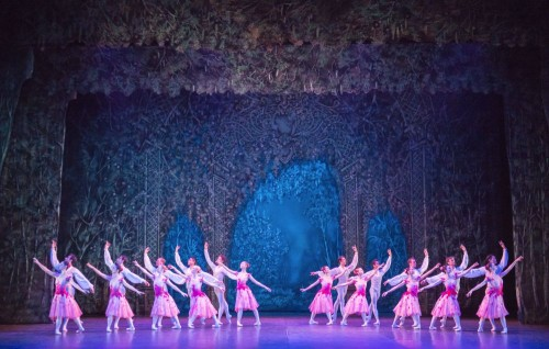 Dancers of English National Ballet in Waltz of the Flowers - photo by ASH