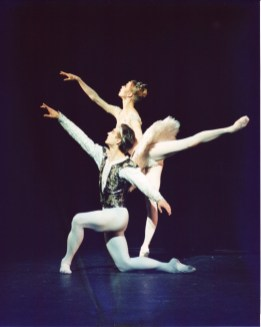 Makarova's La Bayadere at the London Coliseum, 2000