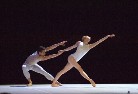 'Million Kisses to My Skin', choreography by David Dawson, London Festival Hall 2008