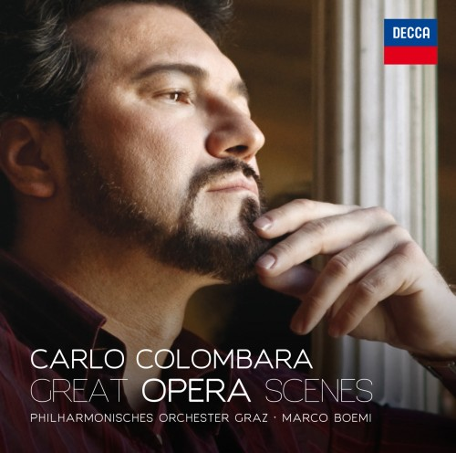 Carlo Combara's Great Opera Scenes cd for Decca