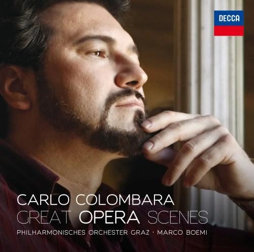 Carlo Combara's Great Opera Scenes cd for Decca