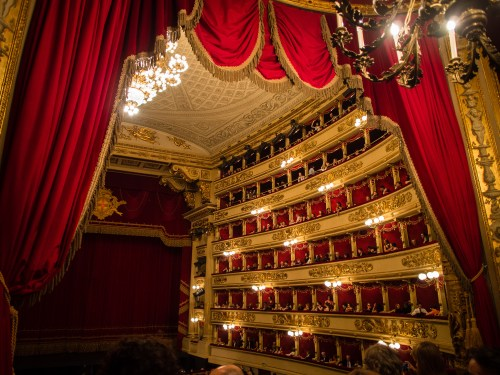 Teatro alla Scala in Milan - photo by Gramilano