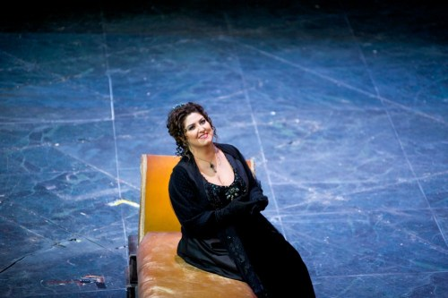 Anna Pirozzi as Tosca - photo by Karla Nur