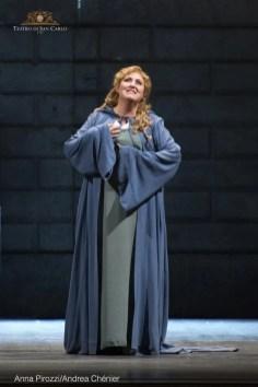 Anna Pirozzi in Andrea Chenier at Teatro San Carlo, Naples
