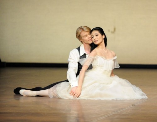 The Lady of the Camellias with Marijn Rademaker and Sue Jin Kang - photo Stuttgarter Ballet