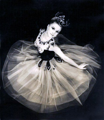 Violette Verdy in George Balanchine's Jewels in 1967.