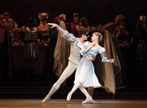 Guillaume Côté and Elena Lobsanova in Romeo and Juliet - photo by Bruce Zinger