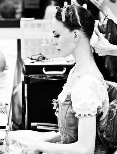Preparing for Giselle