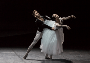 Viktorina Kapitonova and Denis Viera in Giselle - photo by Gregory Bartadon, Zurich Ballet, 2015