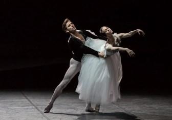 Viktorina Kapitonova and Denis Viera in Giselle - photo by Gregory Bartadon, Zurich Ballet, 2015