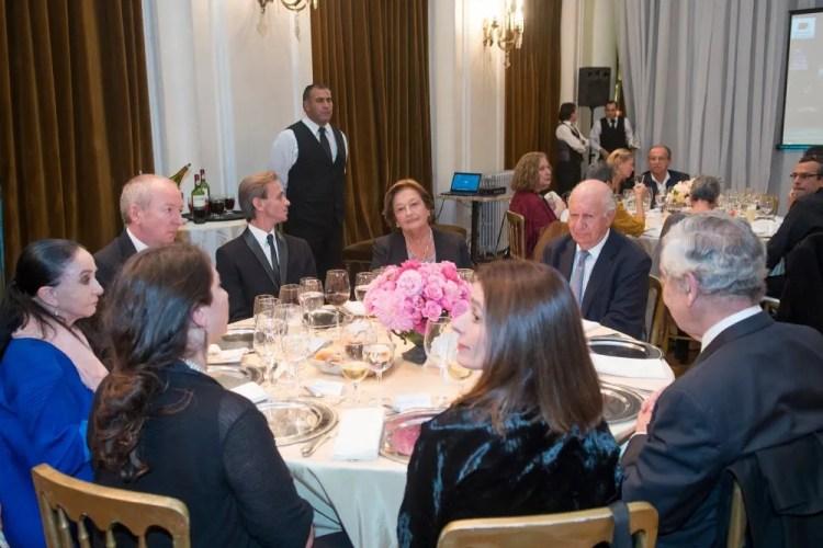Luis Artigoza with Marcia Haydée, Luisa Duran, Ricardo Lagos, Frederic Chambert, Morgana Rodríguez Jefa, Marcela Goicoechea and Octavio Bordón