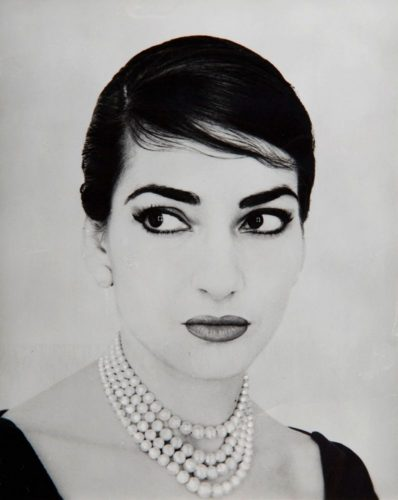 Maria Callas by Jerry Tiffany, New York 1958 (Collection Ilario Tamassia)
