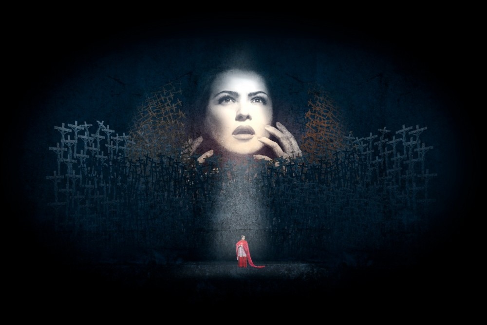 ANNA NETREBKO SINGS THE TITLE ROLE IN NORMA DURING THE 2016/2017 ROYAL OPERA SEASON IMAGE BY AKA © ROH