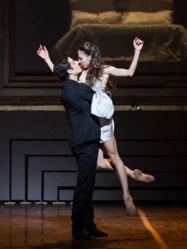 Rebecca Bianchi and Michele Satriano in The Nutcracker - photo Rome Opera Ballet