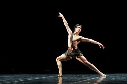 Cesar Corrales in the Diana & Acteon pas de deux - photo by Dasa Wharton