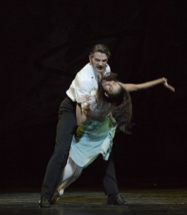Gary Avis and Francesca Hayward in The Invitation ©ROH 2016. Photographed by Andrej Uspenski