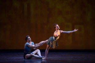 Lauren Cuthbertson and Matthew Golding in Within The Golden Hour ©ROH 2015. Photographed by Bill Cooper