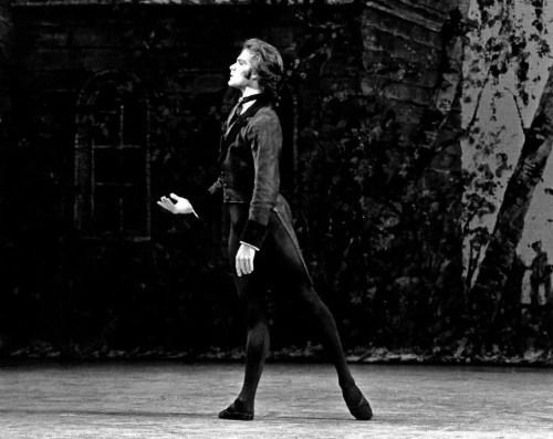 Paul Chalmer as Onegin - London Festival Ballet