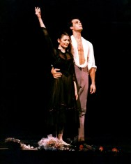 Paul Chalmer with Carla Fracci in Senso – Teatro Massimo, Palermo