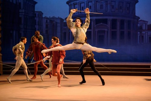 Cesar Corrales in Romeo and Juliet - photo by Bill Cooper
