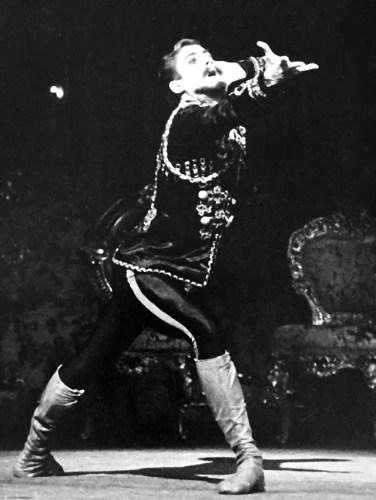 Derek Deane as Crown Prince Rudolf in Mayerling