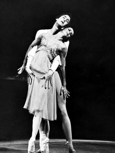 Derek Deane with Ann Jenner in MacMillan's Romeo and Juliet