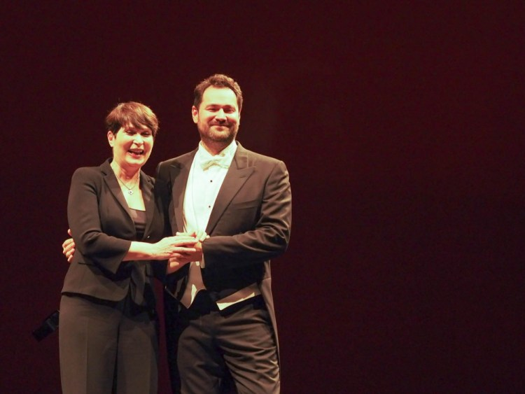 Ildar Abdrazakov and Mzia Bakhtouridze at La Scala