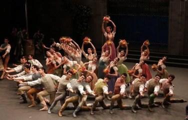 The corps de ballet - photo Brescia and Amisano Teatro alla Scala