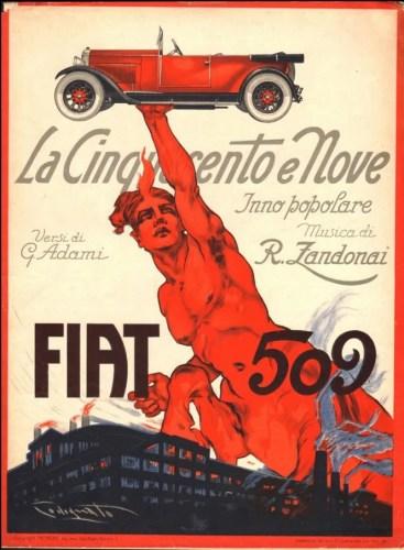 Zandonai's La Cinquecento e nove
