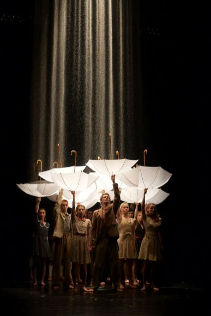 Czech National Ballet in Rain