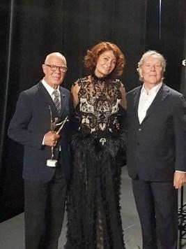 Hans van Manen, Irma Nioradze and Heinz Spoerli