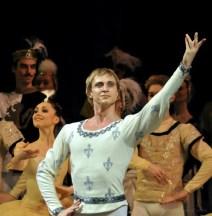 Andrey Ermakov as Jean de Brienne in Raymonda - photo by S. Bogdanova, Mariinsky