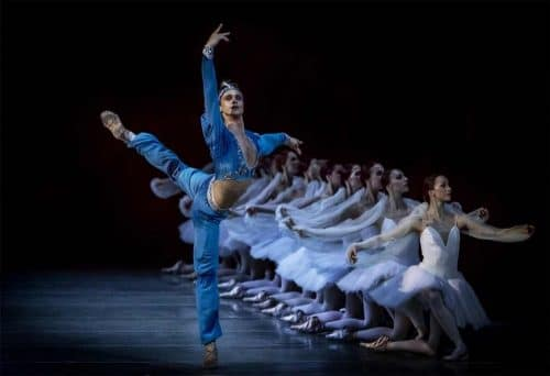 Andrey Ermakov as Solor in La Bayadere - photo by A. Gouliaev, Mariinsky, 2014