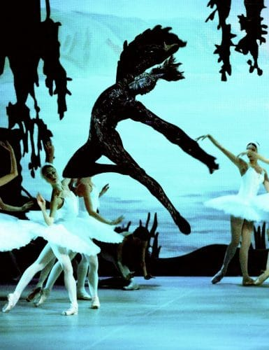Andrey Ermakov as von Rothbart in Swan Lake – photo by S. Lelli, Teatro Alighieri, Ravenna, Italy, 2014