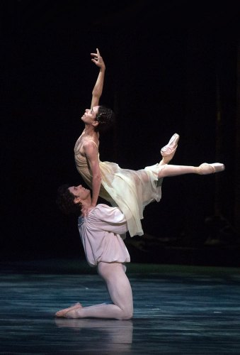 Alessandra Ferri and Herman Cornejo in Romeo and Juliet - photo by Rosalie O'Connor, American Ballet Theatre