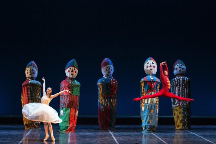 Ashley Bouder as Clara and Rezart Stafa as the Nutcracker photo by Yasuko Kageyama, Opera di Roma 2014
