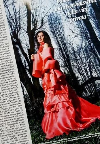 Daniela Dessi in Chi magazine