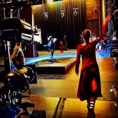 From the wings at the Théâtre des Champs Elysées duing Mats Ek's farewell performance